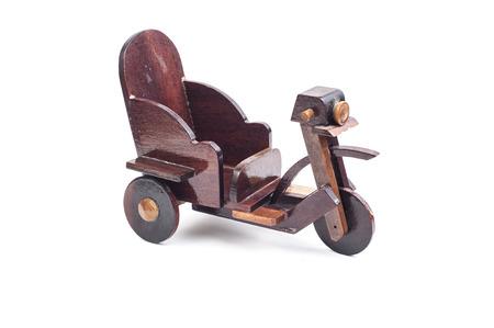 three wheel: Three wheel bike wooden toy