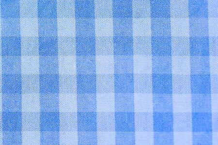 scotch: Close up scotch blue and wite textile background Stock Photo