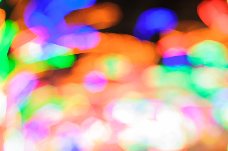 decorate: Out focus decorate light bokeh effect background Stock Photo