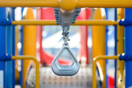 play ground: Iron bar at child play ground