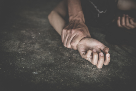Photo of Sexual abuse is a problem or Social issues concept, Violence and rape concept,