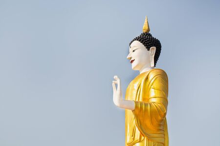 Religious concepts, Statue of Buddha in sky background Giant Buddha Statue