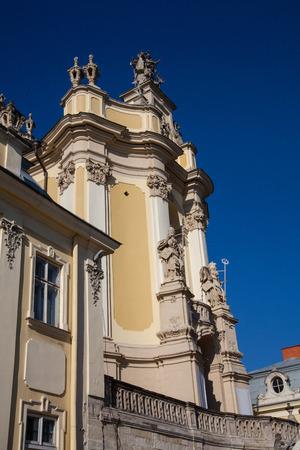 national landmark: Chiesa di San Giorgio in Lviv Ucraina, nazionale, punto di riferimento Archivio Fotografico