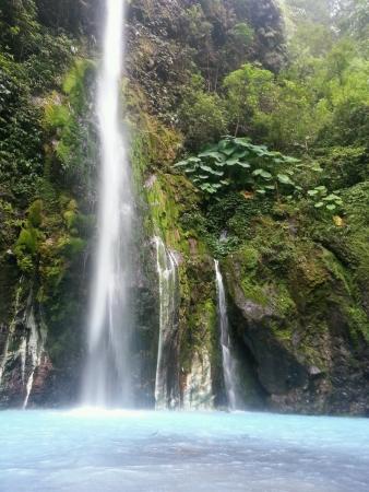 mesmerising: Mesmerising Two Colors waterfall Medan Indonesia