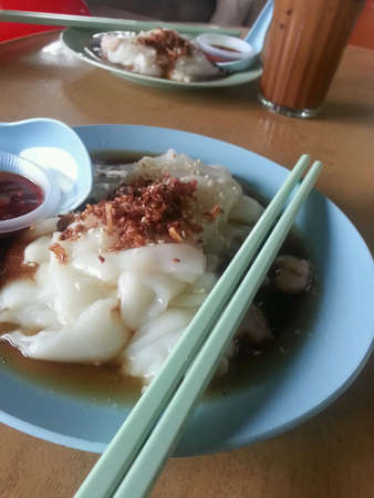 Hong Kong local food chee cheong fun