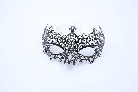venezianische Maskerade isolierter Maskenluxus für Party Standard-Bild