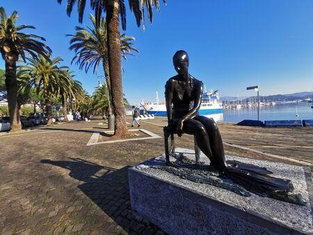 The Gulf Mermaid in the port of la spezia Italy