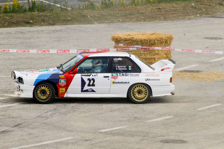 Reggio Emilia, Italy - 2016 26 06: Rally of the Reggio Apennines free event BMW M3. High quality photoR