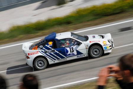 Reggio Emilia, Italy - 2016 26 06: Rally of the Reggio Apennines free event Ford Rs200. High quality photoR