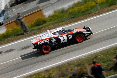 Reggio Emilia, Italy - 2016 26 06: Rally of the Reggio Apennines free event Lancia Lancia Stratos. High quality photoR