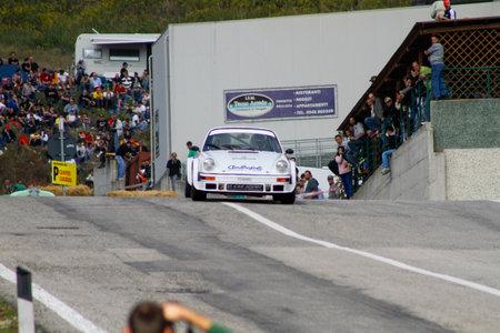 Reggio Emilia, Italy - 2016 26 06: Rally of the Reggio Apennines free event Porsche 911. High quality photoR