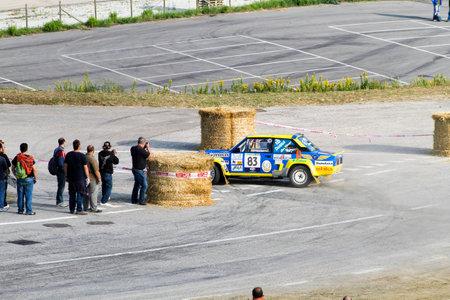 Reggio Emilia, Italy - 2016 26 06: Rally of the Reggio Apennines free event Fiat 131 Abarth. High quality photoR