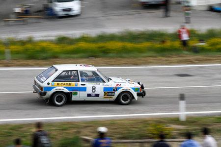 Reggio Emilia, Italy - 2016 26 06: Rally of the Reggio Apennines free event Talbot Sumbeam. High quality photoR