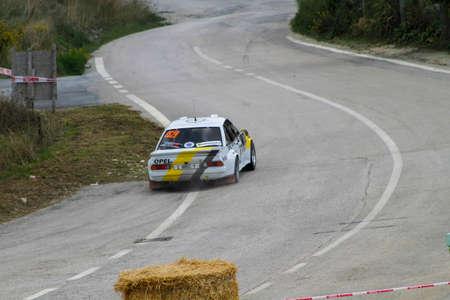 Reggio Emilia, Italy - 2016 26 06: Rally of the Reggio Apennines free event Opel Manta. High quality photoR