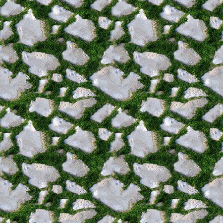 arbitrario: Patr�n de azulejos y baldosas transparente de hierba y rocas. Se trata de patr�n transparente, lo que significa que puede crear un tama�o de imagen arbitrario concatenando simplemente varias de estas im�genes juntos. Cada borde de esta imagen coincide con la arista opuesta.