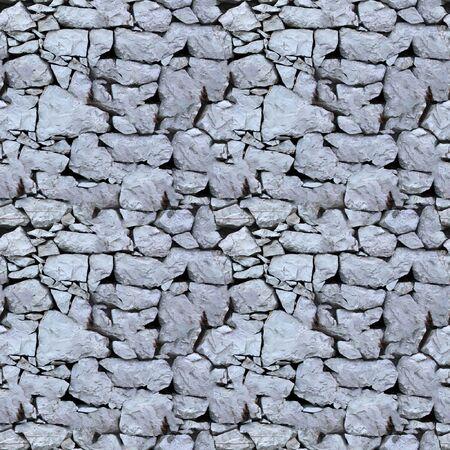 willekeurig: Naadloze tegel patroon van een stenen muur. Dit is de naadloze patroon, wat betekent dat u kunt een willekeurige Afbeeldingsgrootte maken door gewoon samen verschillende van deze beelden samen te voegen. Elke rand van dit beeld past bij de tegenoverliggende rand. Stockfoto