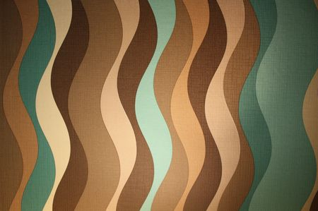 sixties: Sixties style wallpaper pattern