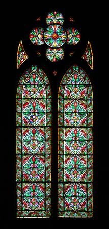 Stained glass from inside a church Stock Photo - 6361735