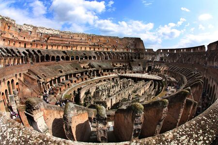 Rome Colosseum - view from the interior