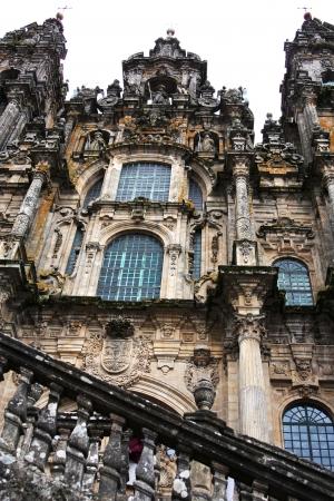 Santiago de compostela cathedral photo