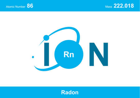 """modern logo design for the word """"ion"""". Ions belong to the periodic system of atoms. There are ionic pathways, ionic bonds. Logó"""
