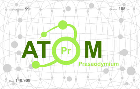 """modern logo design for the word """"Atom"""".Atoms belong to the periodic system of atoms. There are atom pathways. Logo"""