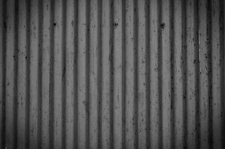 Corrugated metal sheet texture background photo