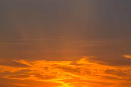 cielo atardecer: Sunset Sky Foto de archivo