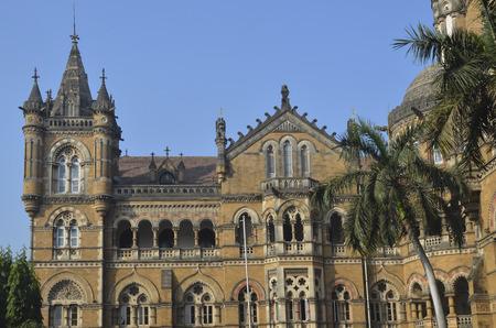 terminus: Exterior de Chhatrapati Shivaji Terminus (Victoria Terminus) de Mumbai