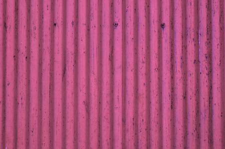 Tôle ondulée métallique texture, fond en rose Banque d'images - 26422555