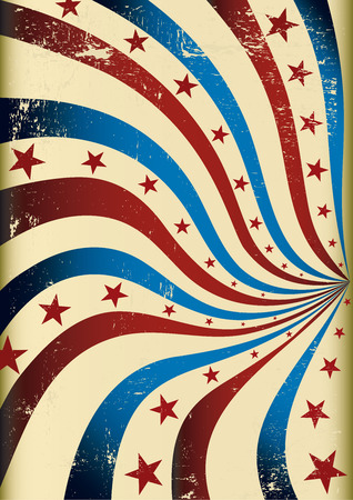 republican party: A textured grunge background with star shapes and stripes Illustration