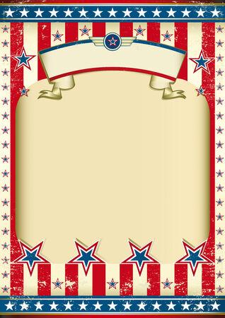 american poster: Am�rica para el cartel del d�a de la independencia