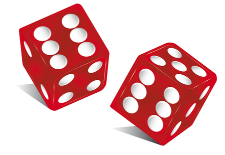 red dice: the die is cast ! Illustration