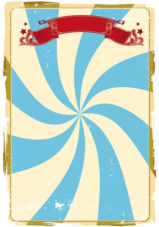 fondo de circo: Un circo de fondo sucio de un cartel.