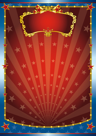 circus background for your. Read your message ! Vector