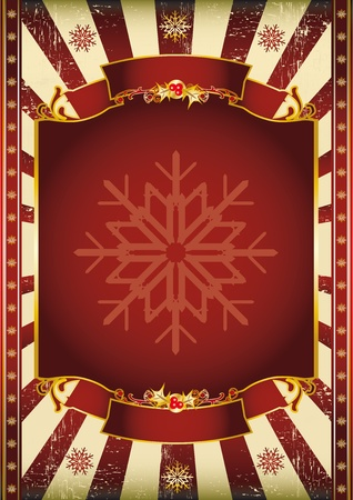 A background on Christmas theme. Read your message on the copy space. Vector