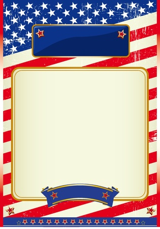 A patriotic background for a poster  Stock Vector - 11291726