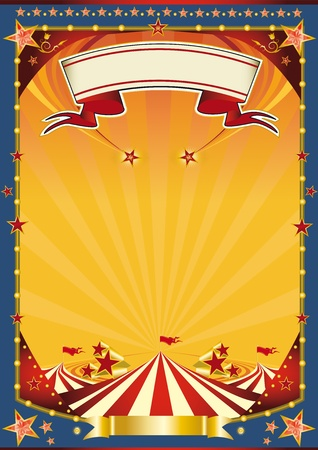 A new poster circus for you. Vector