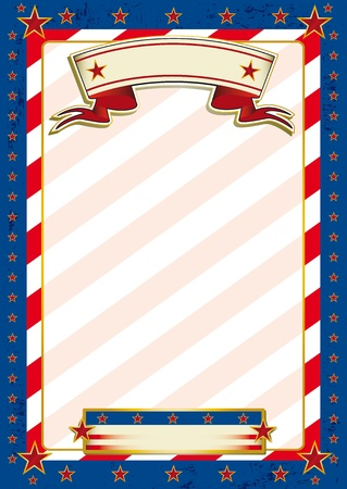 A patriotic background for a poster.  Vector
