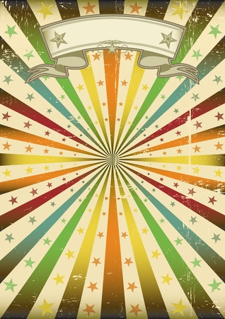 A poster with a texture for a party and carnival  Vector