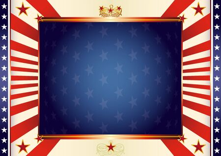 american flag background: An american background for your advertising.