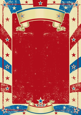 circus poster: a grained background for your message.