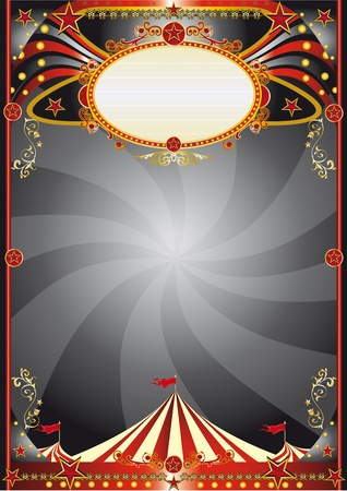 A circus backgrount for your show.  Vector