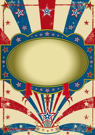 A vintage background for a poster.  Vector