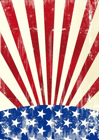 оружие: Грязной американский флаг на фоне Иллюстрация