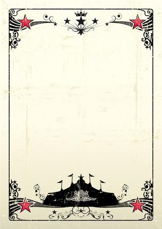 첫날: 쇼의 검은 큰 가기 새로운 grunge 포스터.