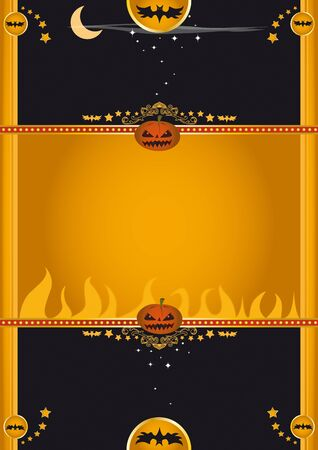 a background for Halloween Vector