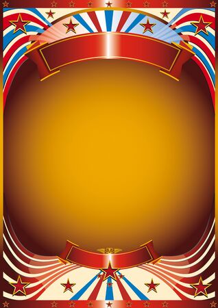 A new poster background for your advertising Vector