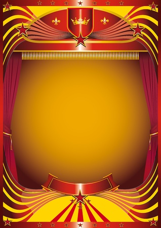 A background for your new show Stock Vector - 11291705