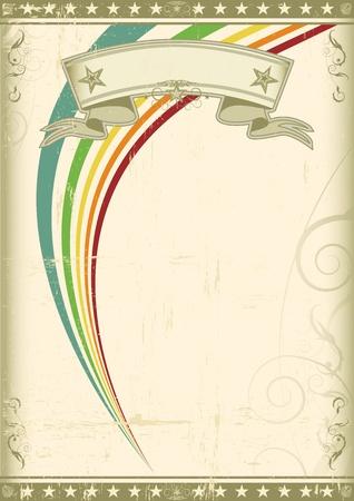vintage background: A new background for a poster.  Illustration
